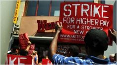 Wave of fast food strikes hits 60 cities