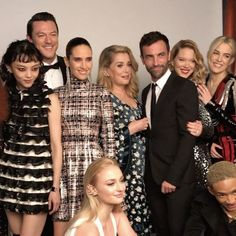 "9,618 Likes, 103 Comments - 🆖 (@nicolasghesquiere) on Instagram: ""Metball class of 2017 ❤️ @rila_fukushima @thereallukeevans @sophiet @leaseydoux_genuine…"""