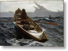 If you are lacking inspiration, then check out these art quotes by Winslow Homer. Winslow Homer – was a brilliant American landscape painter. Oil Canvas, Canvas Art, Canvas Prints, Art Prints, Arc Boutant, Winslow Homer Paintings, Halibut Fishing, Kunsthistorisches Museum, Boston Museums