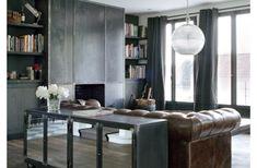 Un design acier pour une maison classique - PLANETE DECO a homes world