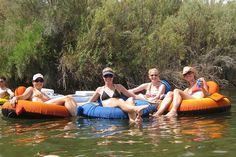 Love floating the Colorado River in Yuma, AZ.
