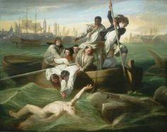 John Singleton Copley ~ Watson and the Shark 1778 (Detroit Institute of Arts)