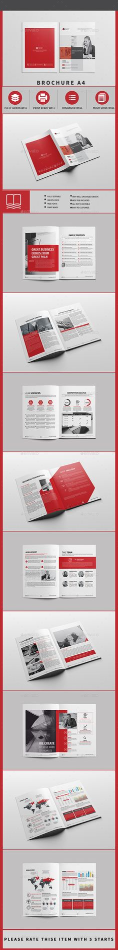 Buy Brochure 18 page by Point-Dng on GraphicRiver. Corporate Business brochure Template Professional, clean and modern 18 page corporate business brochure. Travel Brochure Template, Design Brochure, Product Brochure, Business Brochure, Advertising Tools, Picture Albums, Brochures, 18th, Layout