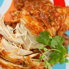 Cilantro Lime Chicken Crockpot (Low 6 hrs): 24 oz salsa, juice from 1 lime, 1/4 cup chopped cilantro, 1.25 oz taco seasoning pkg, 2 finely chopped jalepenos, 4-6 boneless skinless chicken breasts