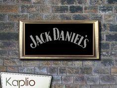 Jack Daniel's Logo Cross Stitch Pattern @Marianne Glass Mose