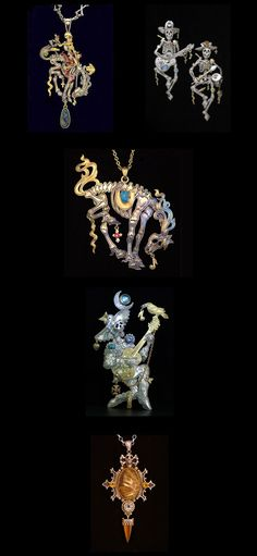 OMG!!! Kit Carson, Day of the Dead Jewellery!  WANT IT! WANT IT!  WANT IT!!!!!! <3 <3 <3