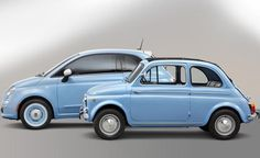 """The FIAT 500 """"1957 Edition"""" It's a modern interpretation of the iconic Nuova 500 model that premiered on July 4, 1957."""