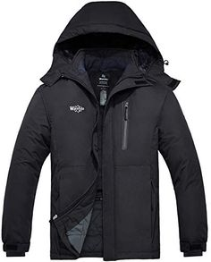 ZXFHZS Mens Casual Outdoor Warmer Padded Puffer Outerwear Hooded Down Jacket