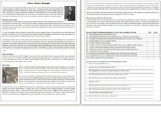 This Reading Comprehension worksheet is suitable for upper intermediate to proficient ESL learners. The text describes the life and work of the great novel. Reading Comprehension Worksheets, Learn English, Biography, Teaching Resources, Lesson Plans, Euro, Texts, Homeschool, How To Plan