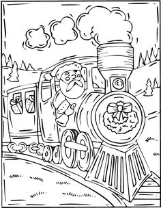 train coloring pages christmas coloring pages set 2 train coloring pages coloring book