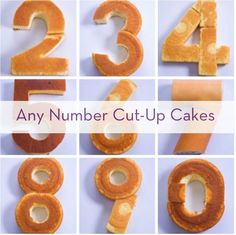 How To Create Any Number With Store-Bought Cakes » Curbly |: