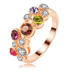Cheap ring bind, Buy Quality ring nose directly from China ring ring pucca Suppliers:     Multicolor Stone Earrings For Women 18K Gold Plated Water Drop Swiss Cubic Zirconia Diamond Cluster Earrings C