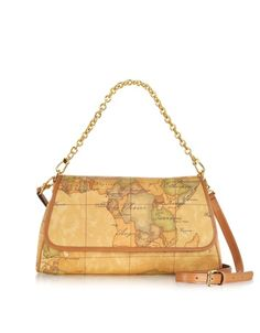 Alviero Martini 1A Classe 1a Prima Classe – Geo Printed Small    Contemporary   Shoulder Bag f09b7168115