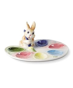 This Painting Eggs Easter Egg Tray is perfect! #zulilyfinds