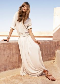 love this dress and the sandals