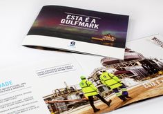 This is GulfMark Brochure, Portuguese Version