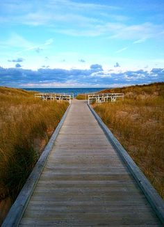 the beach at Jean Klock park in Benton Harbor Michigan---I don't remember seeing this boardwalk, do you ma?