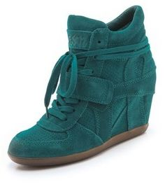 Ash Bowie Wedge Sneakers Ash