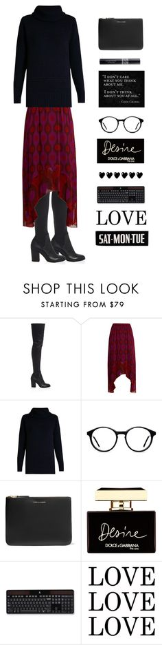 """""""Untitled #468"""" by jsusiemoore ❤ liked on Polyvore featuring ALEXA WAGNER, Diane Von Furstenberg, Comme des Garçons, Lauren Conrad, Christian Dior, Dolce&Gabbana and Logitech"""