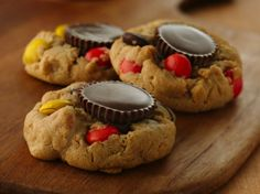 Peanut Butter Candy Cup Cookies