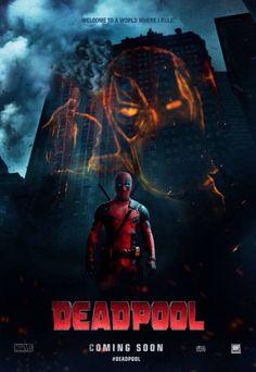 Dark Knight parody Deadpool poster.