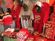 Queen of the Tees in Purcell has some of the best game day gear around!