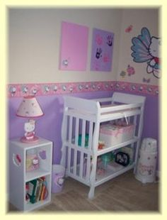 hello kitty nursery. When and if I have a little girl she will have hello kitty everything!