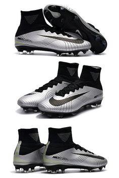 official photos e86cb e2ade Nike Mercurial Superfly 5 FG ACC Tacos de Futbol - Metal Negro