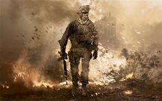 Call Of Duty Modern Warfare 2 Poster 18x12 36x24 40x27 Art Print Decor