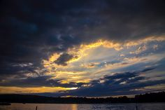 Sunset Bookends | Burnside Photographic