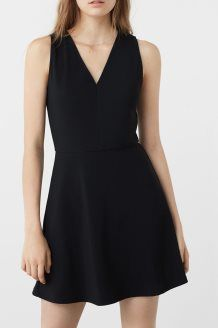 Robe trapèze <br> Noir