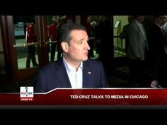"""Opportunist Ted Cruz: """"Donald Trump is Responsible"""" For Organized Chicago Violence (video)… 