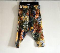 Vintage Girls Harem Pants  European Designer door BebesBazaar
