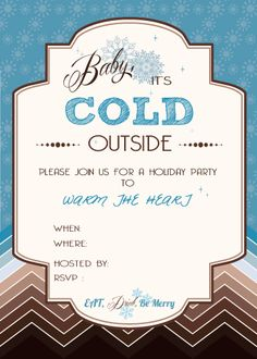 Free Printable Holiday Decorations, Invitations, Gift Baggies And More