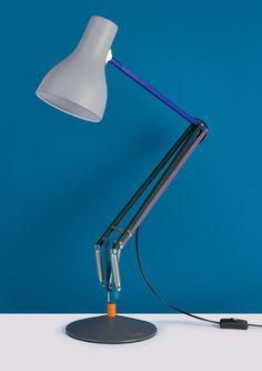 Type 75 Desk Lamp - Paul Smith - Edition Two – Anglepoise Paul Smith, A Table, Table Lamp, Anglepoise, Task Lamps, Lighting Solutions, Lamp Design, Home Decor Items, Modern Lighting