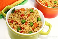 Millet fried rice! This website has many wonderful and diverse whole grain recipes, and I look forward to exploring it more.