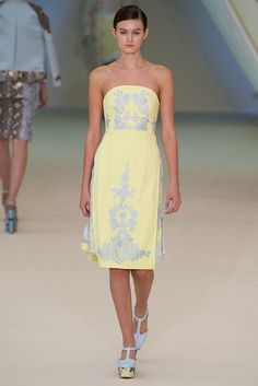 Erdem Spring 2013 Ready-to-Wear Fashion Show - Andie Arthur