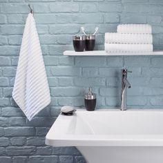 Urbanite Rib Towel in white