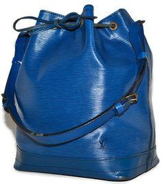 Louis Vuitton Large Noe Gm Epi Leather Drawstring Bucket Blue Tote Bag 83%  off retail 8f4f0541f499e