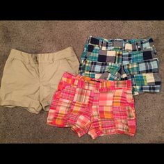 *BUNDLE* Tommy Hilfiger Shorts Tommy Hilfiger shorts, all three only worn a few times and in good condition (they just no longer fit me). Originally $30 each, bundle all three for $24! Tommy Hilfiger Shorts