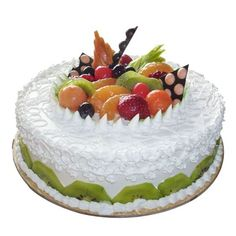 Order Fresh Fruit Mix Cake With Delicious Taste And Yummy Flavors Online