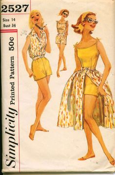 1950's Retro Sewing Pattern  SIMPLICITY 2527  by shellmakeyouflip, $48.50