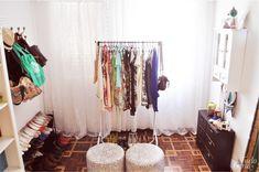 Decor | Usando araras - Tudo Orna | Maior blog de Moda de Curitiba – PR | Inspirações, moda, beleza e cinema