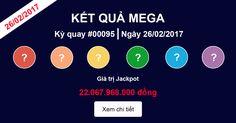 Xổ số Vietlott Mega 26-2-2017