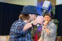"Jensen: ""I don't care how long Chris Hemsworth's hair is, you're my Thor."" 