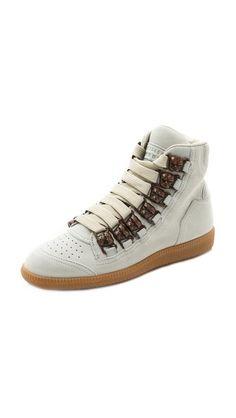 Maison Martin Margiela Leather Sneakers