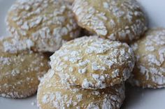 Cool Whip Cookies - 3 ingredients and they're Weight Watchers friendly.  Servings: about 48 Points+: 1 per cookie  1 cake mix, any flavor  2 eggs 1 medium container fat free Cool Whip 1/2 c. powdered sugar