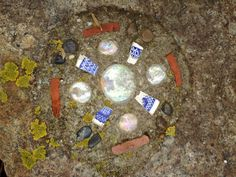 Wiccan Moonsong: Pictures From Outing to Salem and Gloucester MA Yesterday :))))  Mosaic in the Ground, Stage Fort Park, Gloucester MA