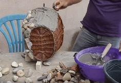 How to Make an Unbelievable Diy Stone Pot – a spectacular flowerbed in your garden
