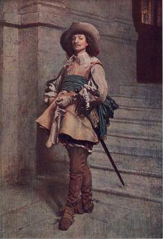 A Cavalier by J.L.E. Meissonier